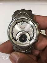 Oakley Watch Authentic with leather strap and box