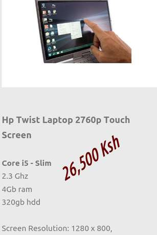 Hp twist laptop Nairobi CBD - image 1