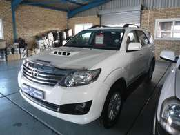 2014 Toyota Fortuner 3.0 D4D 4x4 A/T 89500km