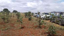 Land available for sale at KIMBO along Thika S/Highway
