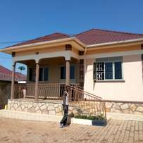 New two bedroom two toilet house for rent in Kira at 400k