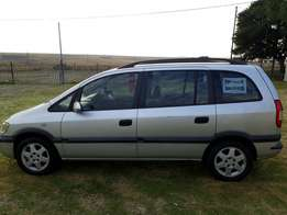 Open zafira for sale.