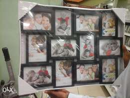 10 photo picture frame