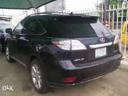 Lexus RX350 model car in a perfect condition