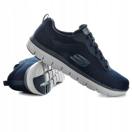 Skechers buty sportowe męskie superlekkie granat 45 nowe