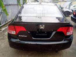 Super clean HONDA CIVIC 2008 MODEL lagos cleared very good 4 uber carb