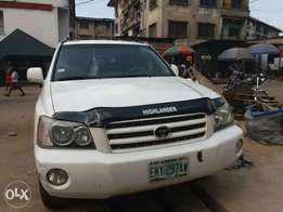 2002 Toyota Highlander in good condition for sale