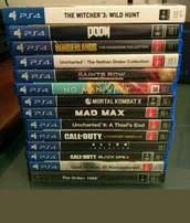 PlayStation 4 games ps4
