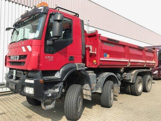Iveco Magirus Trakker AD410T45W 8x8 Bordmatik Trakker AD410T45W - 2013