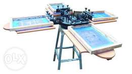 tshirts printing machine for sale with everything