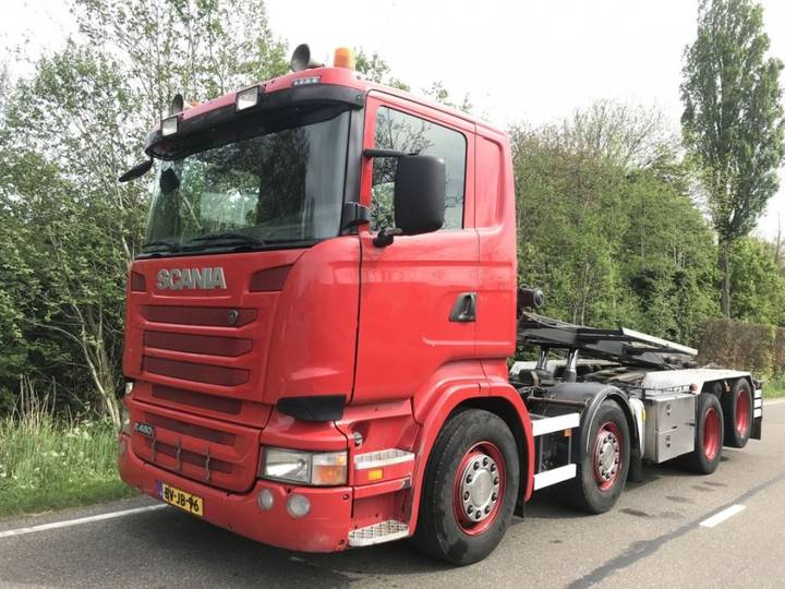 Scania r480 8x2 nch hts kabelsysteem - 2008
