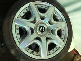 Bentley sport rims for sale same as brand new