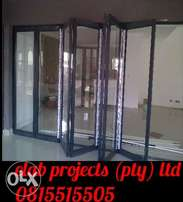 Elab projects aluminum and glass