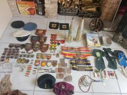 Old SA ARMY Related items WANTED for cash