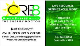 Cre8 Green Energy - The Energy Doctor- Energy Saving