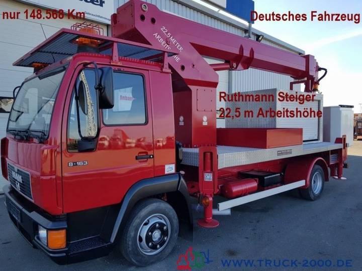Ruthmann MAN Arbeitsbühne 22.5m seitl. Auslage 16.6m - 2000
