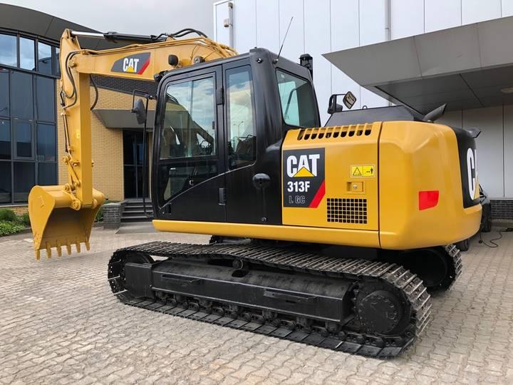 Caterpillar 313FLGC Hydraulic Excavator - 2016