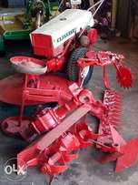 Gravely 10A lawnmower combination with implements