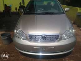 2004 Toyota Corolla Car Very Clean and Cheaper for Sell in Enugu