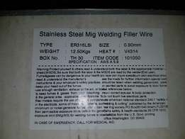 Stainless steel wire for mig welder