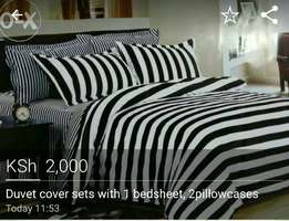 5*6 Duvet covers with 1bedsheet and 2pillowcases