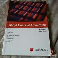 Textbook for sale: About Financial Accounting Vol 2 4th Edition