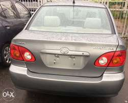 Tokunbo 2003 Toyota Corolla ( Clean Title)