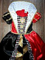 ed7e58622b91c9d Карнавальное Новогоднее платье Червонная Королева Червовая 3-4 года