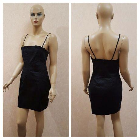 7bbaa26b691 Чёрное и синее платье Eiki Италия. Размер L Новоалександровка - изображение  1