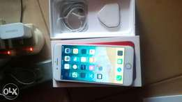 An Iphone 7+ 128gb Red colour