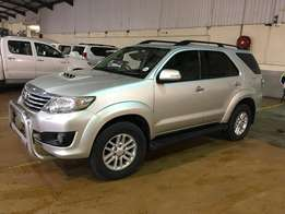 2012 Toyota Fortuner 3.0 D-4D RB Auto