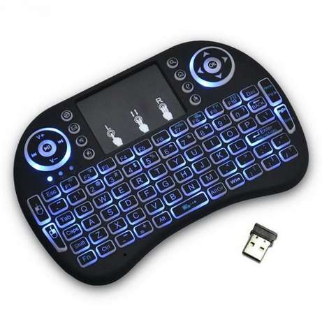 acklit Rii i8 Air Mouse Mini Wireless Keyboard Touchpad Remote Control Nairobi CBD - image 4