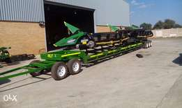 "40"" trailer for John deer ,case,or new Holland flexi header"