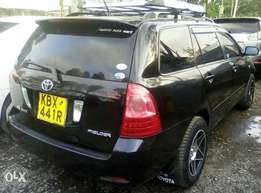 Toyota fielder on quick sale