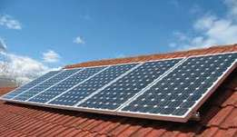 I will put the power back into your house with solar power