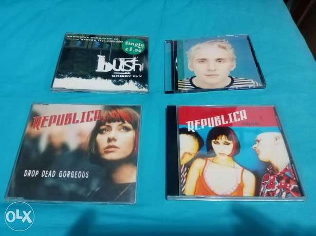 5 Rare CD singles from the 90s
