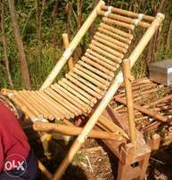 Bamboo swinging/relaxing seat
