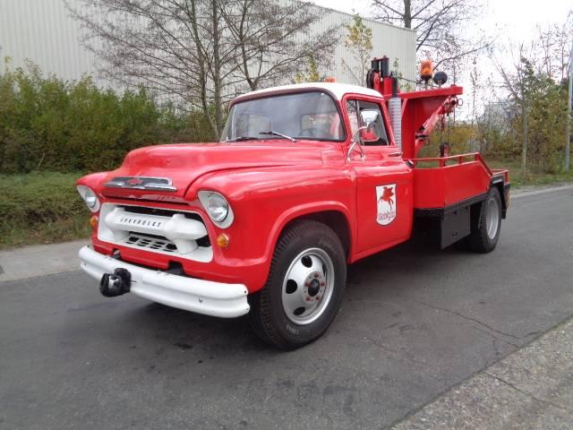 Chevrolet 4 TONNER - 1954