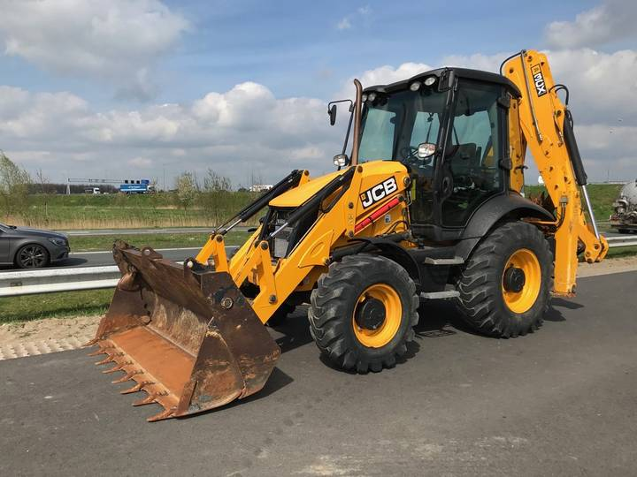 JCB 3CX 4T 4x4 Backhoe Loader - 2014