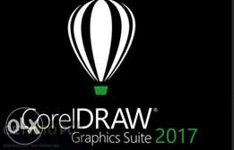 Archicad 20 and corel draw graphics suite x7 and x8