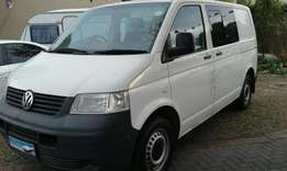 VW T5 1.9 TDI Transporter Crew Bus