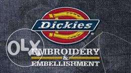 We do all Types of Embroidery and Deliver Any where in Kenya