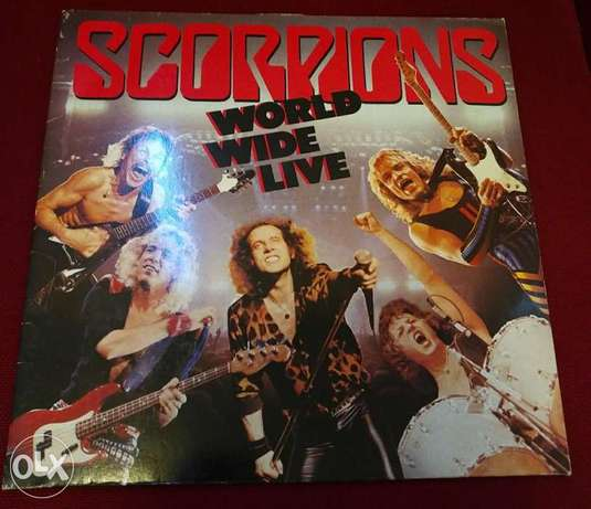 World Wide Live - Scorpions - 1985 -Double Vinyl