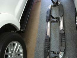 Toyota Fortuner stainless steel side steps