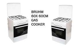 FRESH 60 X 60CM GAS cookers
