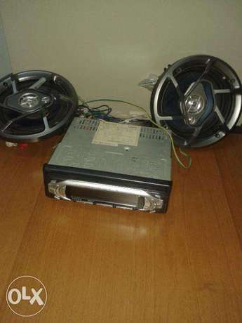 Car Radio Cassette Player for Sale