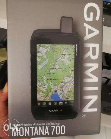 Garmin Montana 700, Rugged GPS Handheld