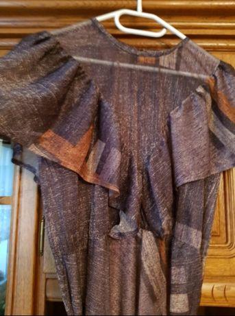 NOWA PIĘKNA zwiewna suknia sukienka mgiełka zara Łódź Bałuty