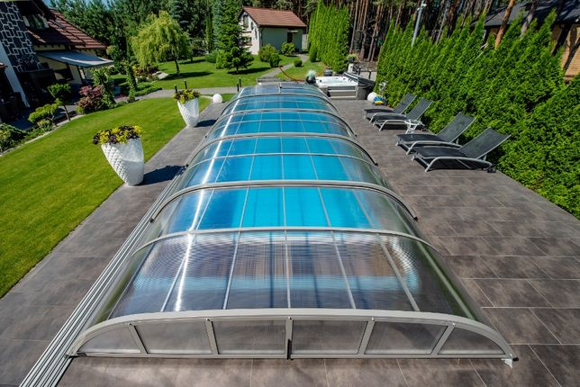 Poważnie Zadaszenia basenowe, zadaszenie do basenu ogrodowego MONTAŻ UO63