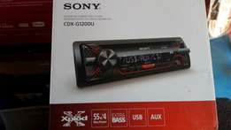Sony cdx-G1200U, CD/mp3/USB, new in shop, optional delivery.
